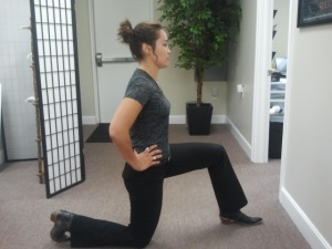 Hip Flexor Stretch Start