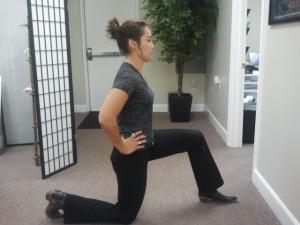 Hip Flexor Stretch Start