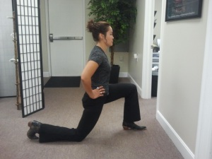 Hip Flexor Stretch Finish